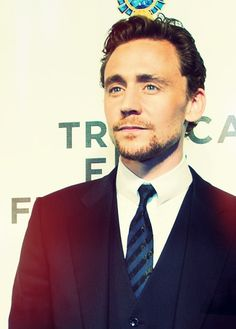 """Tom Hiddleston --- sometimes i just wanna tell him """"stop that..."""" lookin all hot and junk."""
