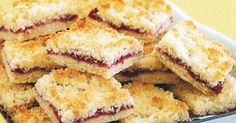 Make five-star jam and coconut slice with just a few simple ingredients. It will become a lunchbox favourite with the kids!