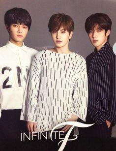 Infinite F Kim Myungsoo, Dong Woo, Nam Woo Hyun, Woollim Entertainment, Lee Sung, Great Love, Infinite, Boy Bands, Kpop
