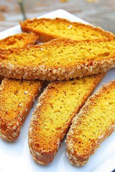 Pumpkin Biscotti Recipe