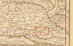 Карта 1666г изготовлена в Париже. ПРИЗНАКОВ РОССИИ НЕ НАЙДЕНО. УКРАИНА НА СВОЕМ МЕСТЕ - Горизонт