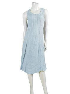 Leinenkleid, hellblau - Diana