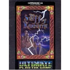 The Staff Of Karnath for Commodore 64 by Ultimate Play The Game on Tape