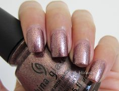 China Glaze Strike Up A Cosmo - Autumn Nights