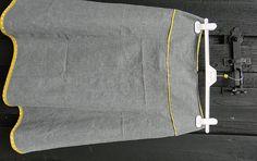 Lave mønster på nederdel om til én med flere baner - Slyngebarn
