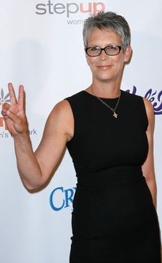 Jamie Lee Curtis - so confident!