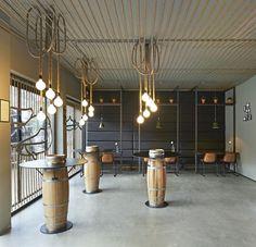 Schuitemaker Vis fish shop & restaurant by Dirk van Berkel, Katwijk – Netherlands » Retail Design Blog