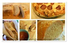 Easy no need bread by Gwen's Nest. For E approved use 4 cups of wheat flour (the other 2 1/2 can be white)..