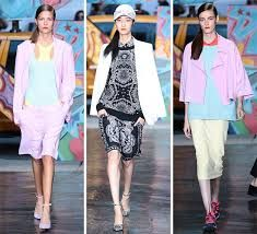 Image result for dkny spring 2014 collection