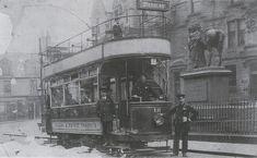 Tram,Newmarket St.Falkirk c1920