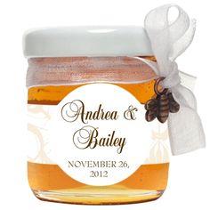 Swirls Couture Honey Jar
