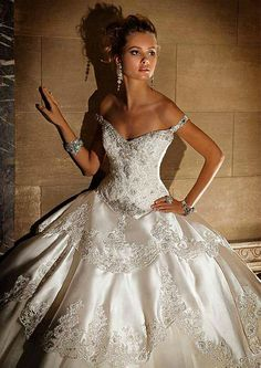 eve of milady wedding dresses