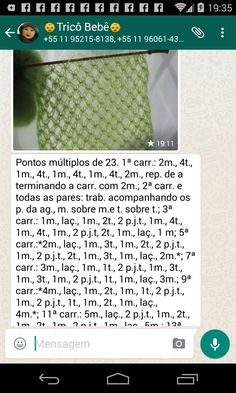 Receita do ponto segredo em tricô Knitting, Needlepoint, Knit Stitches, Knit Baby Sweaters, Deep Fryer, Handbags, Tejidos, Tricot, Breien
