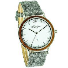 ALPIN Zima s lodénovým remienkom – waidzeit. Chronograph, Watches, Leather, Accessories, Elegant, Wristwatches, Clocks, Jewelry Accessories