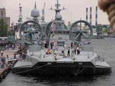 Russian Zubr-class hovercraft