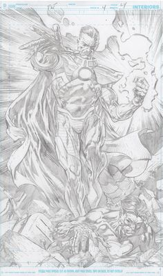 Sinestro from Forever Evil by David Finch Comic Book Pages, Comic Book Artists, Comic Artist, Comic Books Art, Marvel, David Finch, Univers Dc, Ink Illustrations, Cartoon Drawings