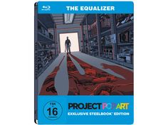 Movie Steelbooks - The Equalizer by Project Pop Art
