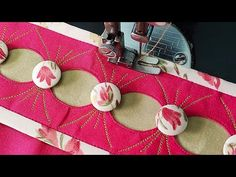 in this video i will show you Very Beautiful and Stylish Salwar Mohri/Bottom Design very Easily cutting and stitching method 🙋♂️Hello. Chudidhar Neck Designs, Dress Neck Designs, Kurti Neck Designs, Kurti Designs Party Wear, Hand Designs, Full Sleeves Design, Kurti Sleeves Design, Sleeves Designs For Dresses, Cloth Garland Diy