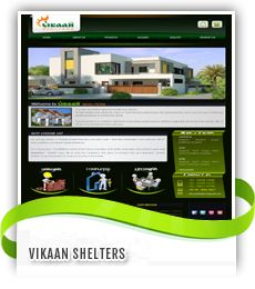 Vikaan Shelters Designed by Jayam Web Solutions