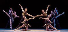 Ballet: ONE/end/ONE, Choreographer: Jorma Elo Dancer(s): Artists of Houston Ballet, Photo: Amitava Sarkar