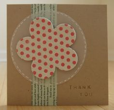 """use metal stamps to """"emboss"""" words onto cards"""