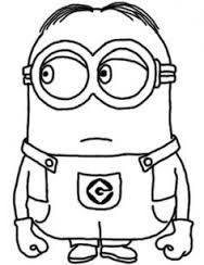 Despicable Me Minions Coloring Pages in Color DIY Crafts