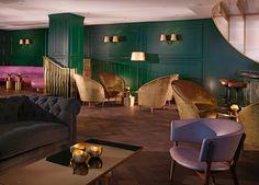 Mondrian Hotel London Design by Tom Dixon Tom Dixon, Mondrian, Restaurant Design, Restaurant Bar, Restaurant Exterior, Design Hotel, Resorts, Best Interior Design Websites, Bar Design Awards
