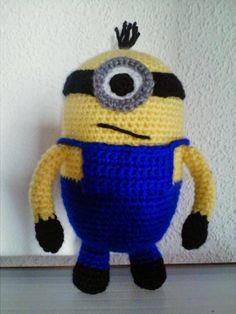 Crochet  Minions amigurumis Amigurumis Pinterest ...