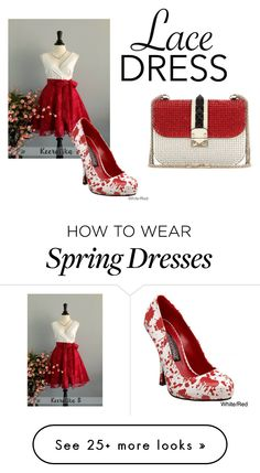 """Lace Dress"" by parisedwards1 on Polyvore featuring Funtasma and Valentino"