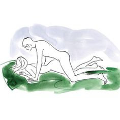 Man on top woman face down sex