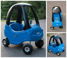 this cozy coupe was nspired by pinterest and daddys love of the lions
