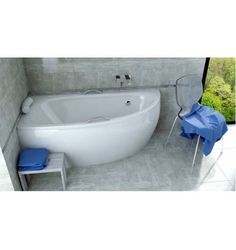 baignoire d 39 angle cm blanc nerea leroy. Black Bedroom Furniture Sets. Home Design Ideas