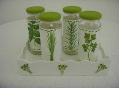 Reciclagem: Artesanatos Com Vidro de Azeitona - Arteblog