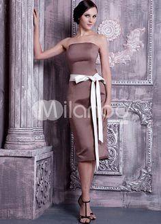 Robe de demoiselle d'honneur, bridesmaid dresse. Milanoo $54