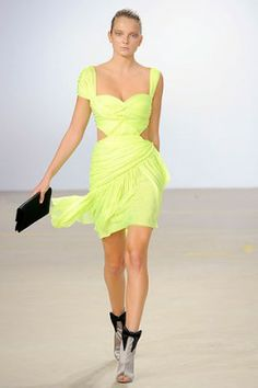 Matthew Williamson Spring 2010 , ,  #London Fashion Week #Matthew Williamson #New York Fashion Week, #POSHGLAM