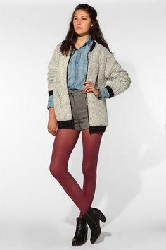 Grey Antics Sherpa Jacket  #UrbanOutfitters