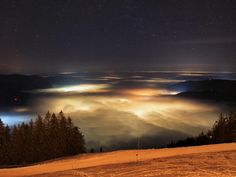 18.02.2015 - Nebelmeer/Abendstimmung @ Wallberg, Tegernsee, Bayern (DE)