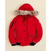 Canada Goose Boys' Rundle Bomber with Fur Hood- Sizes XS-XL