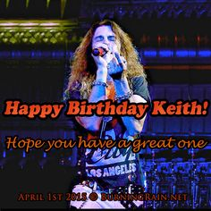 Happy Birthday Keith St John 2015