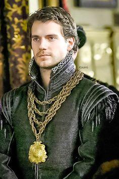 HENRY CAVILL   Henry Cavill as Charles Brandon - The Tudors