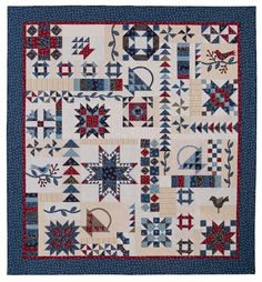 Vintage Sampler - Common Threads Quilting