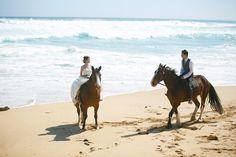 Horse ride the beach at the Mornington Peninsula