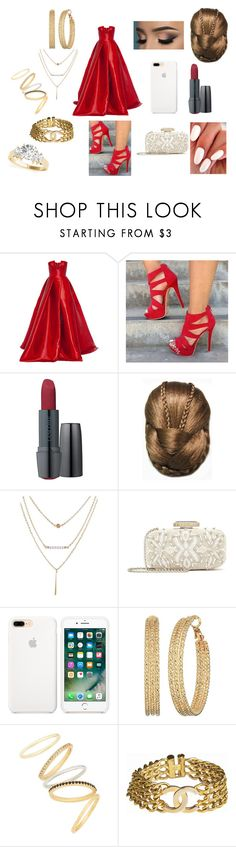 """""""Engagement Party! 💍"""" by roxy-crushlings ❤ liked on Polyvore featuring Alex Perry, Lancôme, Oscar de la Renta, GUESS, Madewell, Chanel, engagement and engagementparty"""