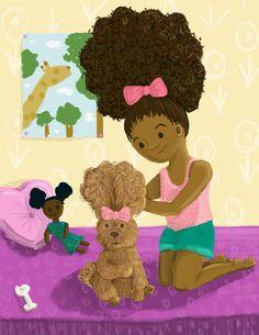 A Super List of Children's Books That Celebrate Black Girls — Bino and Fino - African Culture For Children African Children, My Children, Child Love, Your Child, Black Children's Books, Books For Black Girls, African American Books, American Art, Afro