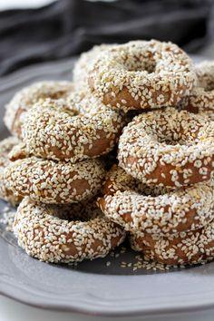 Vegan Greek Olive Oil and Orange Cookies - Baked Ambrosia - Sweet Stuff - Greek Sweets, Greek Desserts, Greek Recipes, Vegan Desserts, Vegan Recipes, Lebanese Recipes, Greek Cake, Sesame Cookies, Cake