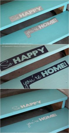 Pretty Up Garage Space by Painting Steps - 49 Brilliant Garage Organization Tips, Ideas and DIY Projects