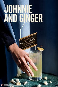 The Black Label Ginger Highball. A gloves off match between smoke and spice #KeepWalking To make: mix 1.5 oz Johnnie Walker Black Label with 4oz ginger ale.