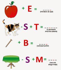 Joc de copii: Adunări şi scăderi (1) Math Worksheets, Worksheets For Kids, Romanian Language, Bird Template, Math Humor, Printed Pages, School Lessons, Educational Activities, After School