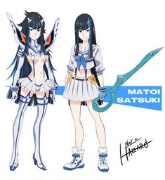 Birth Swap - Matoi Satsuki by Not-a-Hazard on deviantART