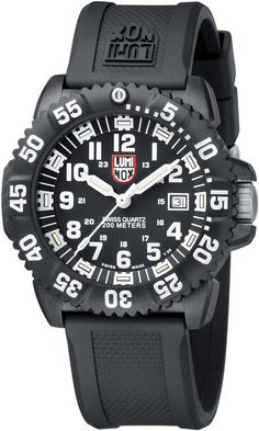 Luminox Watch Sea Navy Seal Colormark 3050 Series #2015-2016-sale #360-image-yes #bezel-unidirectional #black-friday-special #bracelet-strap-rubber #brand-luminox #case-material-black-pvd #case-width-44-mm #clasp-type-tang-buckle #classic #date-yes #delivery-timescale-4-7-days #dial-colour-black #gender-mens #movement-quartz-battery #official-stockist-for-luminox-watches #packaging-luminox-watch-packaging #sale-item-yes #subcat-sea-navy-seal #supplier-model-no-a-3051…